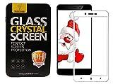 Parallel Universe Xiaomi Redmi 4A Original Edge to Edge 3D Tempered Glass screen protector - White