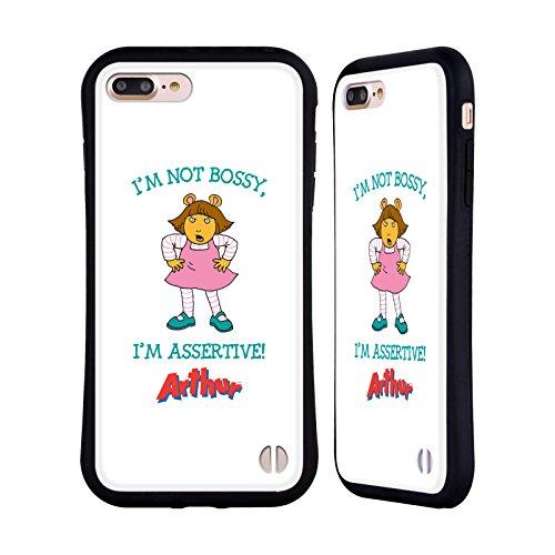 Ufficiale Arthur Lifes A Beach Personaggi Case Ibrida per Apple iPhone 6 Plus / 6s Plus Autoritario