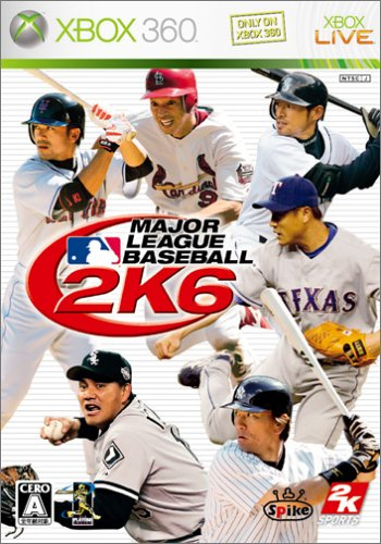 Major League Baseball 2K6[Japanische - 360 Baseball-spiele, Xbox