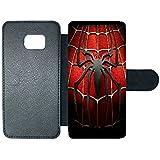 Aux Prix Canons - Etui housse portefeuille Marvel Comics Avengers Spiderman Samsung Galaxy S7 edge