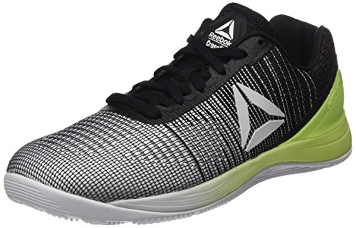 Reebok R Cross Training Nano 7.0, Zapatillas de Running Unisex, Blanco (White/Electric Flash/Black), 43 EU M