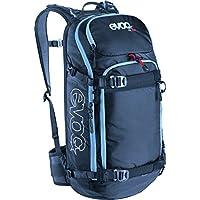 Evoc Protektor Rucksack Fr Pro - Pack de esquí de descenso libre, color negro, talla 56 x 27 x 14 cm