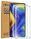 AOBOK [2 Stück, Xiaomi Mi Mix 3 Panzerglas Folie, Xiaomi Mi Mix 3 Displayschutzfolie, (Anti-Kratzen, Blasenfrei, HD Klar) 9H Härte Schutzfolie für Xiaomi Mi Mix 3 Smartphone