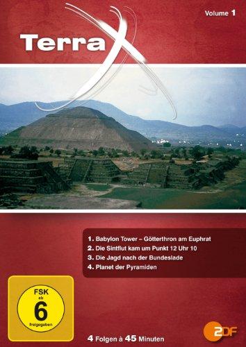 Terra X - Volume 1: Babylon Tower / Die Sintflut kam... / Jagd nach der Bundeslade / Planet der Pyramiden