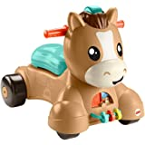 Fisher-Price- Pony Salta in Sella 2-in-1 con Suoni e 3 modalità di Gioco Giocattolo per Bambini 9+Mesi, GTW26