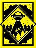 Warning Alien Abduction Zone Metallwand Kunst Blechschild Warnung Malerei Tiermuseum Restaurant Geburtstagsfeier neues Zuhause Ostern Weihnachten Bars Dekor
