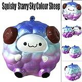 VENMO Sternenhimmel Sky Squee Soft Schaf Cartoon Squishy Langsam steigende Squeeze Spielzeug Kawaii...