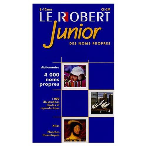 Le Robert Junior des noms propres