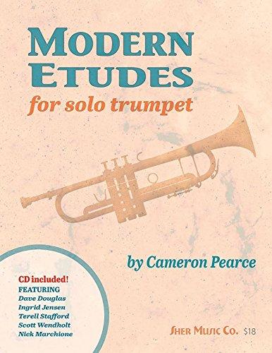 Modern Etudes for Solo Trumpet por Cameron Pearce
