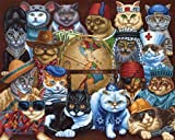 Dowdle Cats Around The World 100 Piece Puzzle