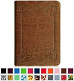 Fintie Kindle Paperwhite Folio Case - The Book Style PU Leather Cover with Auto Sleep/Wake Feature for All-New Amazon Kindle Paperwhite (Fits All versions: 2012 2013 2014 and 2015 New 300 PPI), Vintage Antique Bronze