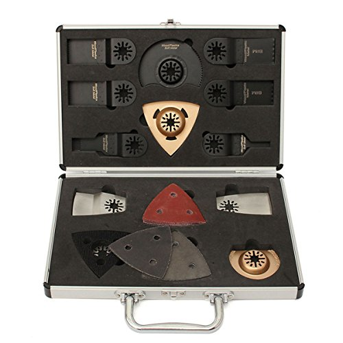 Faway Sägeblätter, 34-teiliges Set für Bosch Fein Makita oszillierendes Multitool oszillierende Werkzeuge