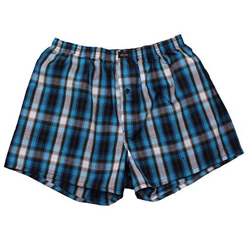 3er Pack Web-Boxer Shorts für Herren auch in Übergröße Nr. 436 ( 9 (XXXL) ) - 5