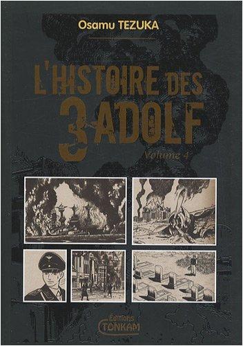 Histoire des 3 Adolf (l') - Deluxe Vol.4 par TEZUKA Osamu