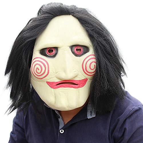 t Scary Scream Horror Maske Latex Maskerade Maske Spielzeug Streich Lustige Spielzeug Unisex 1 Stücke Erwachsene Geschenk,Beige,Onesize ()