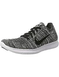 Nike White/Black, Scarpe da Corsa Bambino