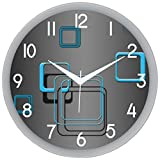 IT2M 11 Designer Wall Clock with Glass