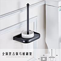 Bagno accessori hardware l'ottone spazzola per WC nero antico pennello
