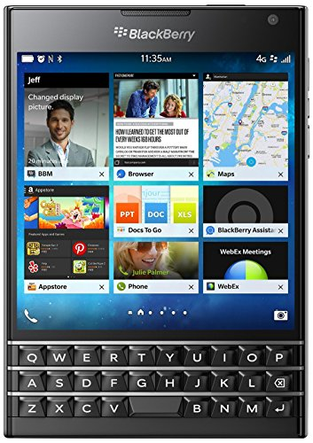 BlackBerry Passport (Black, 32GB)