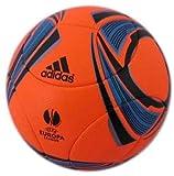 Adidas Europa League Matchball Fussball Powerorange V87051 2011-2012, Größe:5