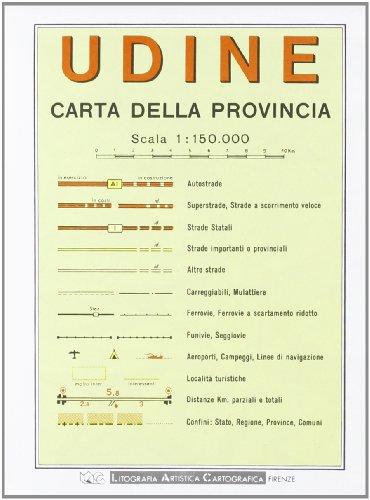 Udine 1:150.000 (Carte stradali)