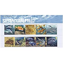 2014 pescado sostenible nº 499 presentación paquete - sellos de correo real