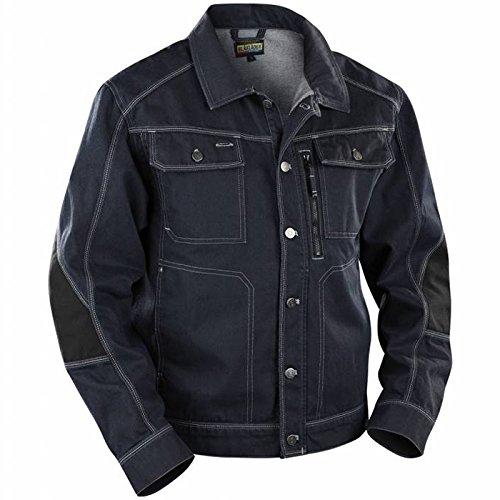 """Preisvergleich Produktbild Blakläder Jacke """"Handwerker"""" Denim, 1 Stück, XL, marineblau / schwarz, 405911408999XL"""
