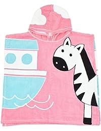 Splash About - Poncho con Capucha para niños, Infantil, Color Ninas Ark, tamaño