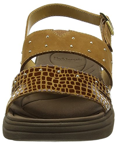 Padders Cameo, Sandales Bride cheville femme Brown (Tan Combi)