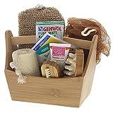 Dekorative Geschenksets für Bad oder Sauna mit Badezubehör, Saunazubehör, Kosmetex Bade- und Pflegeset, Set 4