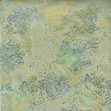Fabric Freedom Lemon Yellow Fusion Design 100% Baumwolle Bali Batik Tie Dye Muster Stoff für Patchwork, Quilten &,–(Preis Pro/Quarter Meter)