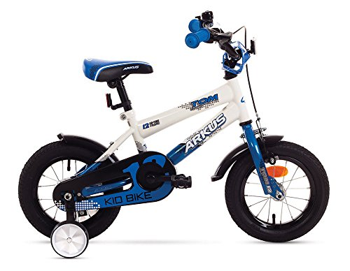 BMX Kinderfahrrad 12 Blau/Weis Zoll Arkus Fahrrad 12