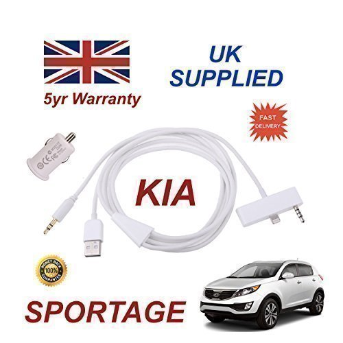 kia-sportage-iphone-6-6s-audio-cable-with-35mm-aux-usb-cable-with-usb-10a-power-adapter