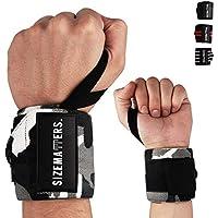 Sizematters. Männer & Frauen Handgelenk Bandagen (45cm) - Ideal für Fitness, Bodybuilding, Kraftsport & Crossfit... preisvergleich bei billige-tabletten.eu