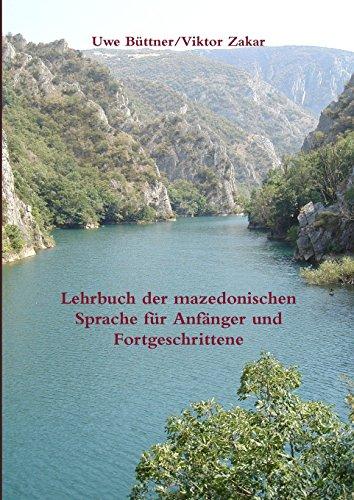 Buchcover: Lehrbuch der mazedonischen Sprache für Anfänger und Fortgeschrittene