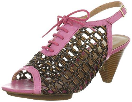 Via Uno 21123504 Sandaletten Leder camel pink camel pink