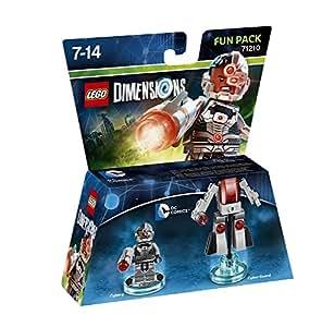 Figurine 'Lego Dimensions' - Cyborg - DC Comics