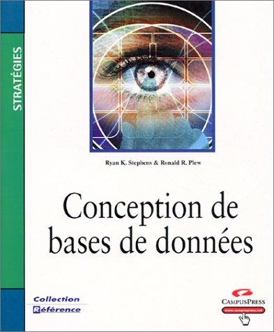 Conception de bases de données par Ron Plew