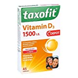 Taxofit Vitamin D3 1500 I.e. Depot Tabletten 45 stk