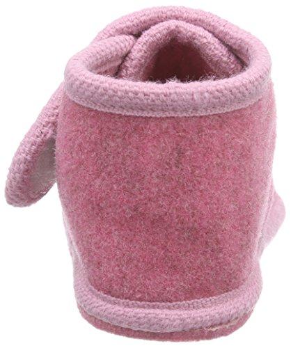 Adelheid Glückspilz Filzriegelschuh Mädchen Hohe Hausschuhe Pink (rosa / 610)