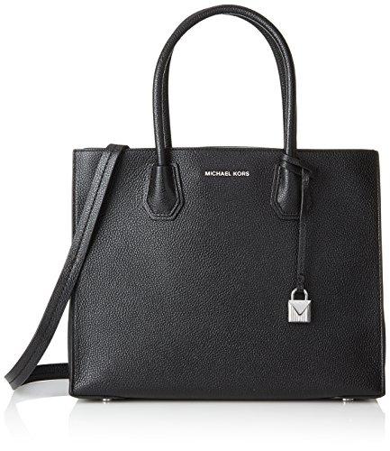Michael Kors Damen 30f6sm9t3l Business Tasche, Schwarz (Black), 14x26x32 cm