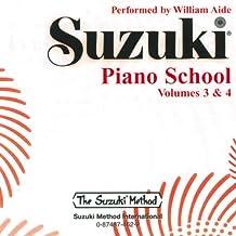 Suzuki Piano School, Vol 3 & 4 (Suzuki Method Core Materials)