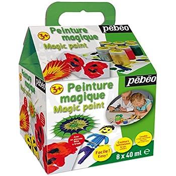 Pébéo 059410 Prima Magic Starter Set de 8 Pots de 40 ml