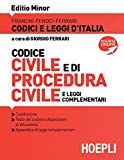 Codice civile e di procedura civile e leggi complementari 2019. Ediz. minore