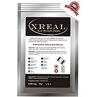 xreal Microfibras de queratina para el pelo, 25 g, anticlareo del pelo Castano (