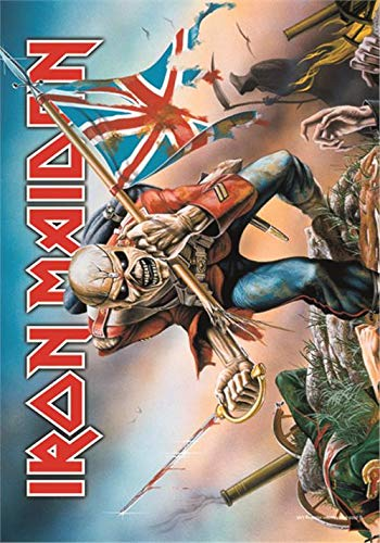 Flagge Material (Iron Maiden - Trooper Flagge)