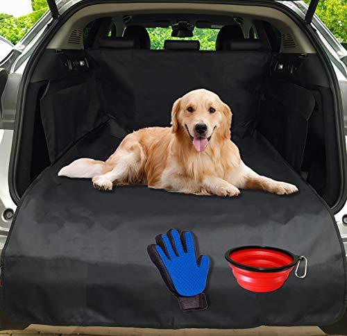 TODDY'S - Telo Auto Per Cani 185x104x33 - Protezione Bagagliaio Auto Universale - Telo Bagagliaio Per Cani - Resistente E Impermeabile - Anti Odore E Sporcizia - Idea Regalo
