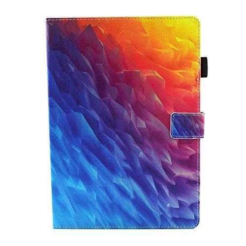 iPad IPad pro 10.5 Custodia per IPAD iPad pro 10.5 inch, inShang Smart Cover case in pelle PU, supporto per tenere L'iPad sollevato, magnetico per sleep e standby Gradient ice sculpture