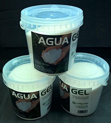 NOVINGRECONS Agua Gel - Formato Jardin/Huerto. Retenedor