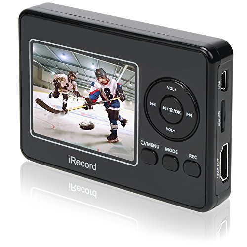 Rybozen HD Video Grabber / Standalone AV Multifunktionale Recorder und Player mit Mikrofon / Capture und Recording Ihre VHS-Bänder VCD DVD VCR Hi8 DV STB TV BOX und Gaming-Systeme auf - Player Kassette Hi8 Video